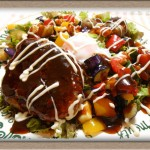 『カラフルな彩り ロコモコ』ハワイアン気分で楽しい夕食