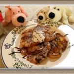 『クロワッサンで新感覚!フレンチトースト』カフェ風ランチ気分で