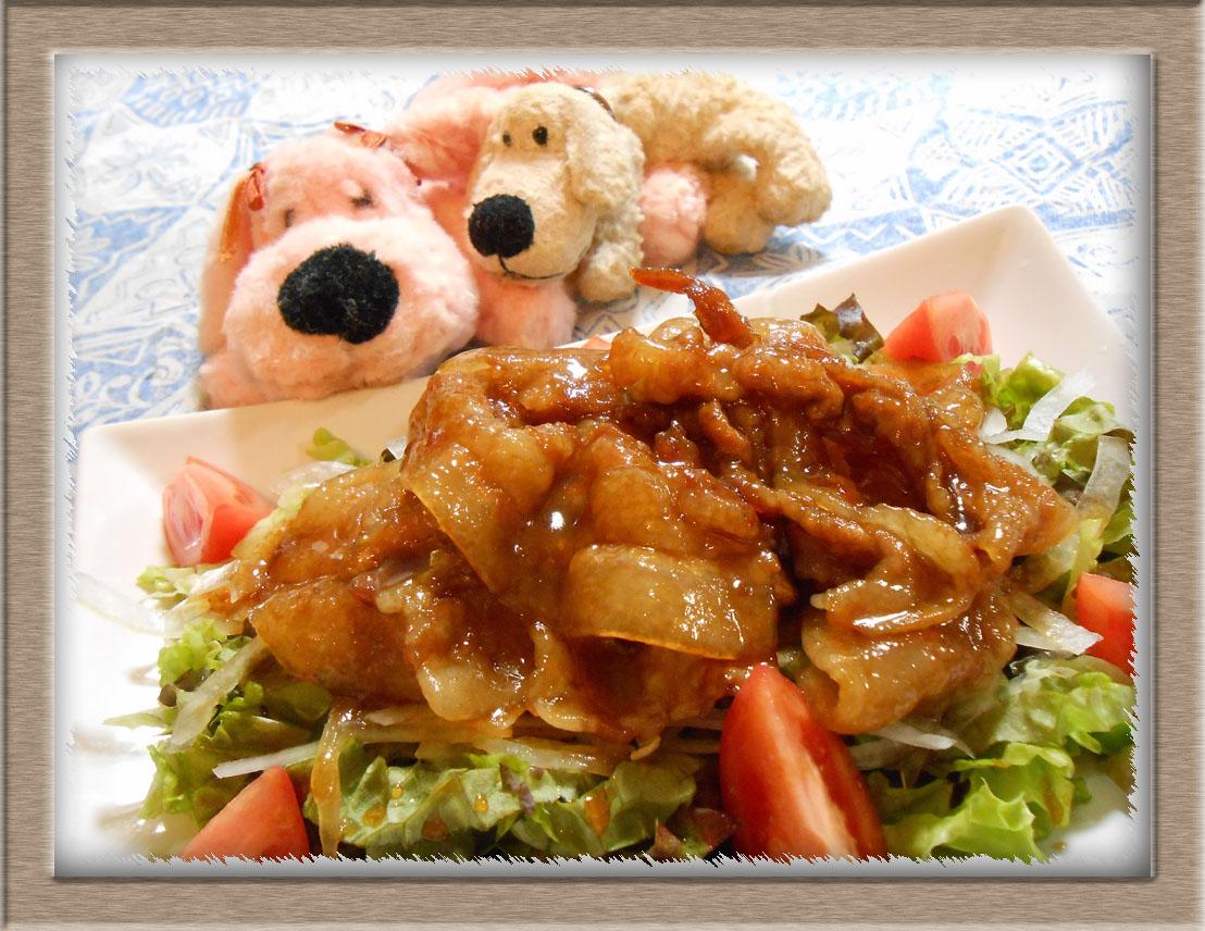豚バラ肉でチャーシュー風 (1)