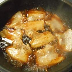 豚バラ照り焼き丼 (3)