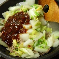 あんかけ白菜 (4)