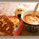 時短食材!ミートソース缶で『バターチキン風 カレー&ナン』簡単レシピ