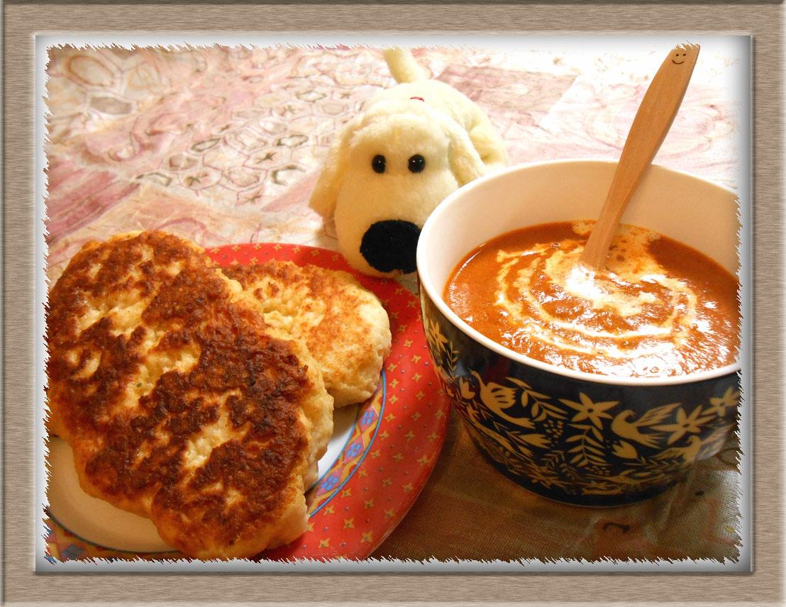 バターチキン風カレー&ナン (1)のコピー