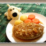 肉汁あふれる『ジューシーふわふわハンバーグ』作ってみたよ♪家事えもんのかけ算レシピ