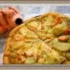 『サーモンとじゃがいものジェノバクリームピザ』簡単手作り生地レシピ