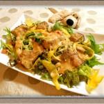 うちのごはんお惣菜の素活用『ブリの香り揚げ風』にんにくマヨソースでご飯が進む