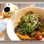 『トマ玉サーディン丼』柚子胡椒とバター醤油でご飯もススム!