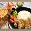 タイ風チキンライス『カオマンガイ&トムヤムクンスープ』簡単エスニック料理