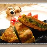 『菜の花と豚肩ロース肉のピカタ』旬の食材を美味しく活用!