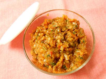 肉味噌豆腐 (4)
