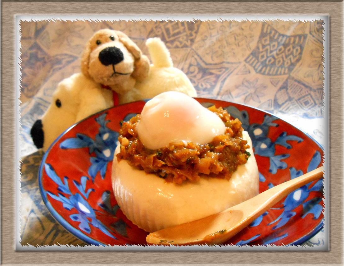 肉味噌豆腐 (1)