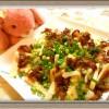 『筍と鶏もも肉のねぎ味噌焼き』旬の食材を焼いて簡単美味しい