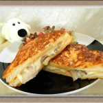 溶けだすチーズがたまらない!『クロックムッシュ』のカフェ風ランチ