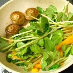 チキンソテー (焼き野菜)