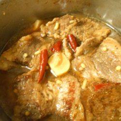 牛角煮丼(味付け)