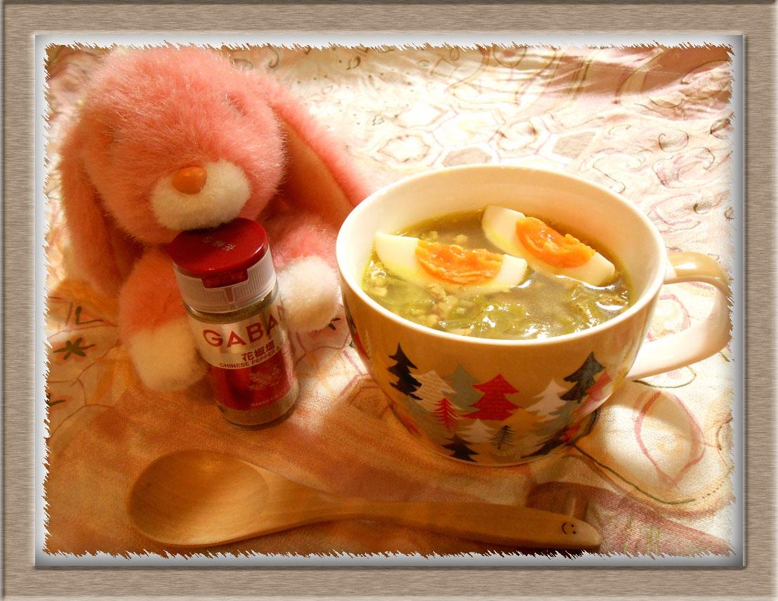 もやし春雨スープ