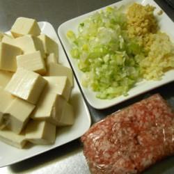 マーボー豆腐 (材料)