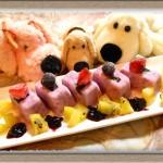 【アイスの作り方】ヨーグルト×ブルーベリージャムで『スイーツキューブ』簡単デザート