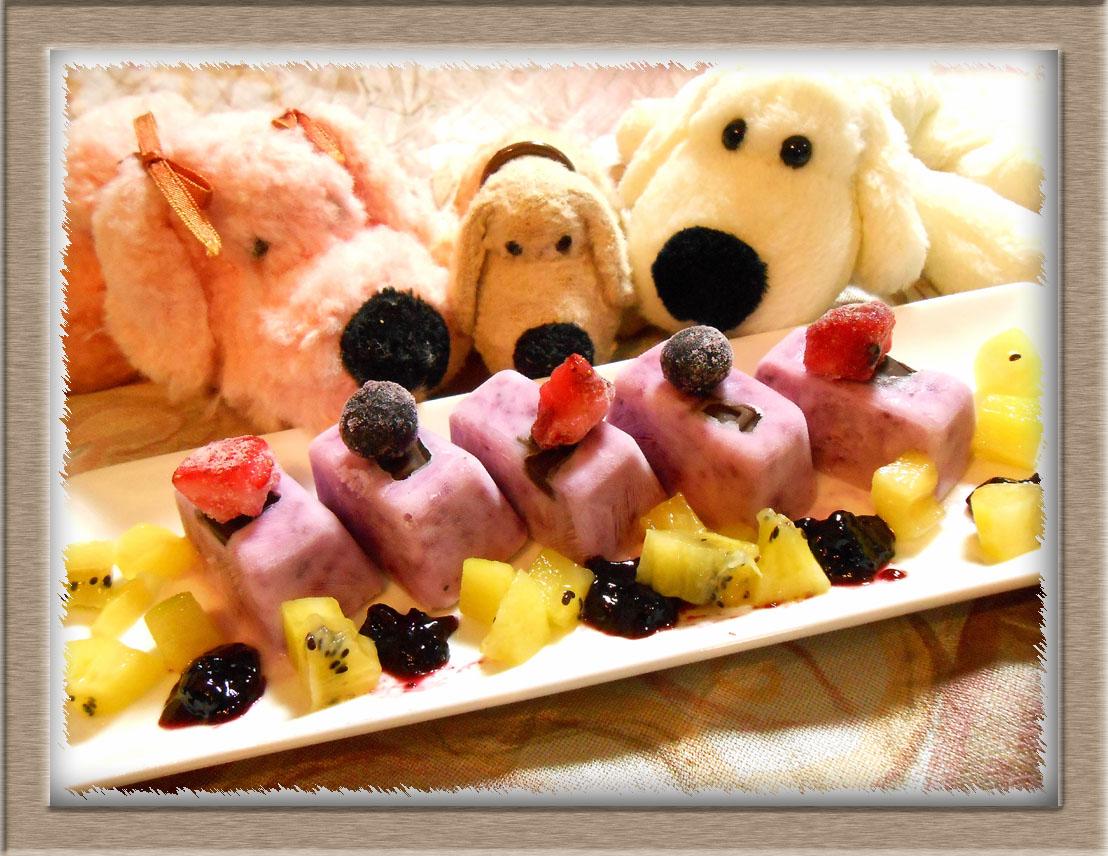 スイーツキューブ・アイス アイスクリーム 作り方