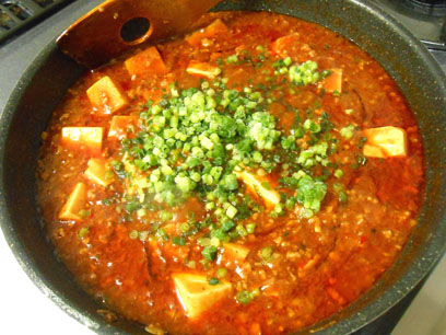 マーボー豆腐 (完成)