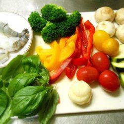 アヒージョ(使用野菜)
