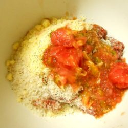 トマトハンバーグ (使用材料)
