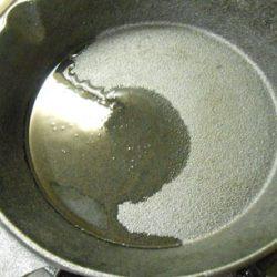 スキレット油慣らし
