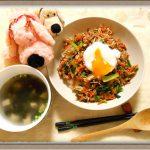 【話題の宅配食材Oisix】キットオイシックスそぼろと野菜のビビンバ&韓国風スープ作ってみた