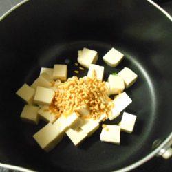 韓国スープ豆腐煮