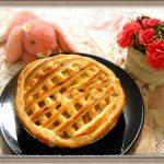『アップル&スイートポテトのWパイ』大人と子供が一度で二度美味しいお得レシピ