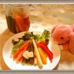 【美容効果アリのピクルス】液の再利用方法も!はちみつりんご風味で簡単レシピ