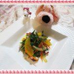 オレンジ1個で作る【タコとセロリのさっぱりフルーツマリネ】簡単3ステップ