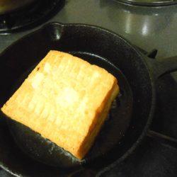 厚揚げステーキ焼き