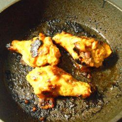 タンドリーチキン焼き