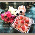【イチゴのスコップケーキ】誕生日・クリスマスにも失敗しないオシャレな簡単スイーツ