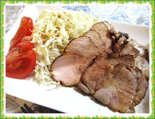 チャーシュー デリシェフ 低温調理 豚かたまり肉