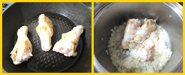 鶏肉 手羽元 ガラムマサラ 焼き目 焼き方