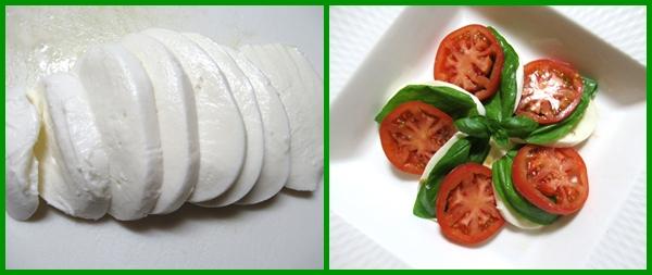 トマト バジル モッツァレッラチーズ  作り方 レシピ カプレーゼ