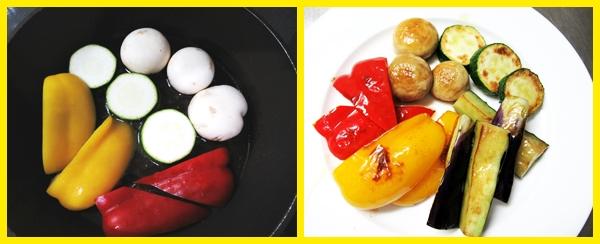 夏野菜 グリル チキンカレー 作り方 レシピ