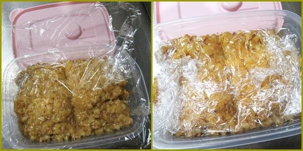 もち麦 肉味噌 便秘解消 ダイエット レシピ 作り方 冷凍保存