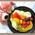 【白ワイン香るホットサラダ】野菜の旨み凝縮 体に優しいダイエットレシピ