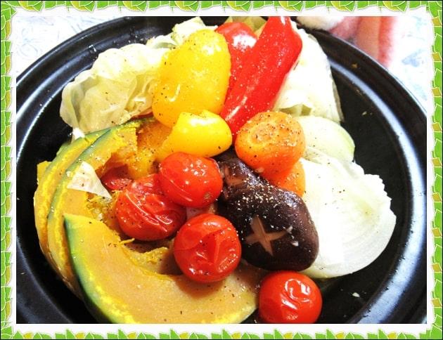 ホットサラダ 蒸し野菜 タジン鍋 ブイヨン