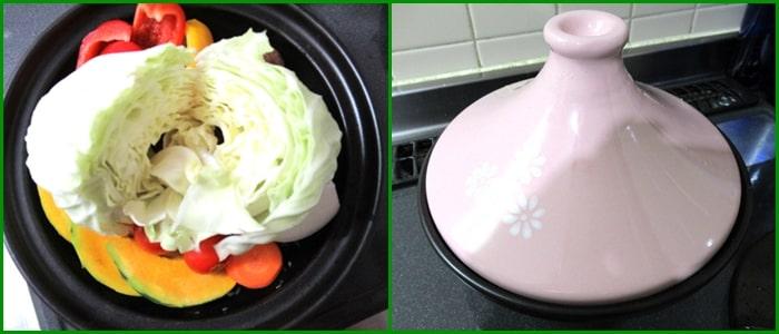 ホットサラダ 野菜ブイヨン タジン鍋 蒸し野菜 作り方 レシピ
