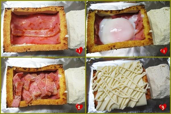 ロカボダイエット 厚揚げトースト 糖質制限 レシピ 作り方