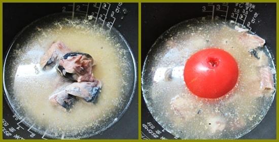 サバ缶 炊き込みご飯 トマト もち麦 生活習慣病予防