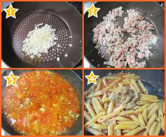 スペシャルみそ 世界一受けたい授業 味噌汁健康法 みそボロネーゼ ペンネ 作り方 レシピ