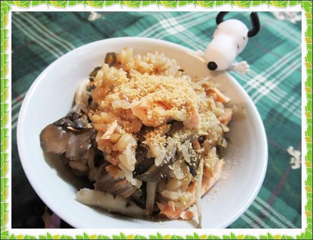 きのう何食べた 炊き込みご飯 鮭 舞茸 ゴボウ レシピ 作り方