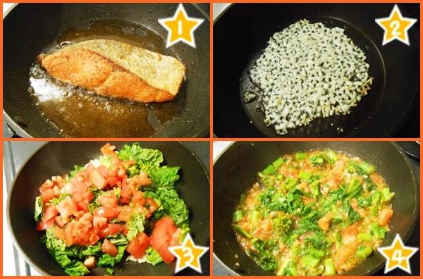 アスタキサンチン 抗酸化作用 紅鮭 菜の花 トマト ソテー 作り方 レシピ