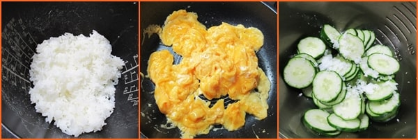 きのう何食べた 炒り卵  酢飯 作り方