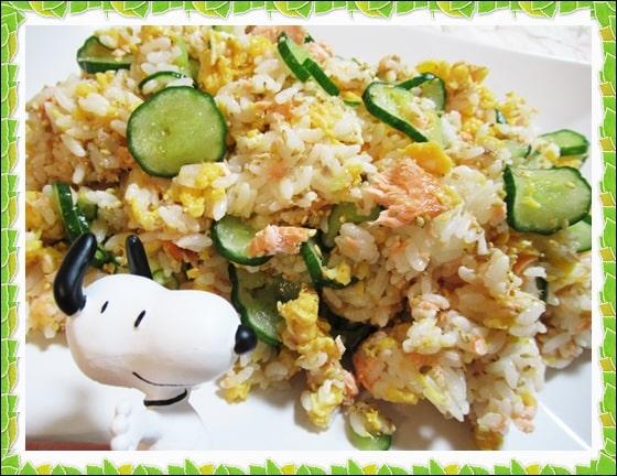 きのう何食べた 鮭と卵のちらし寿司